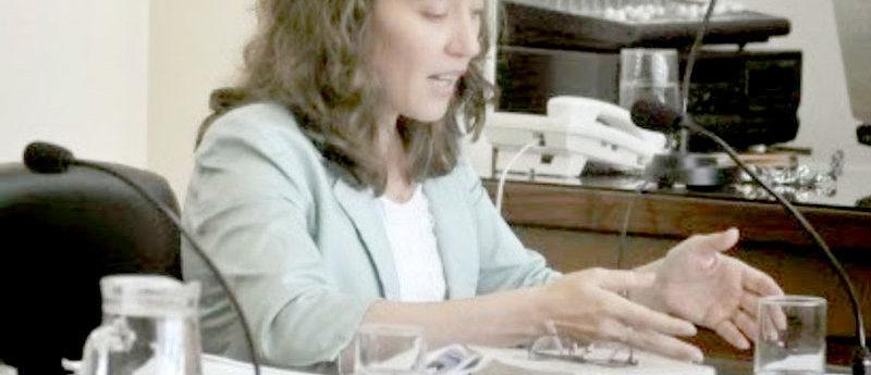 Cecilia Goyeneche se apartó de la causa de los contratos