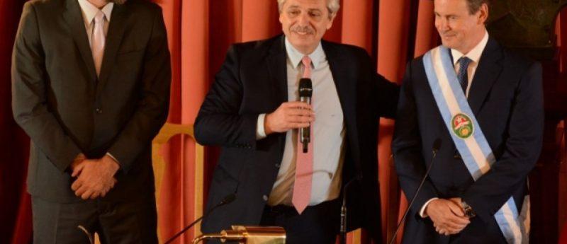 Alberto refirió al problema de la ley de enganche, como Entre Ríos