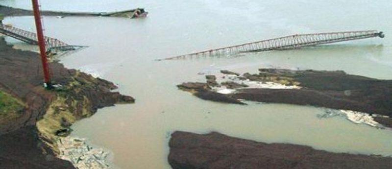 El derrumbe del Puerto Ibicuy, el acuerdo y las demoras de la justicia