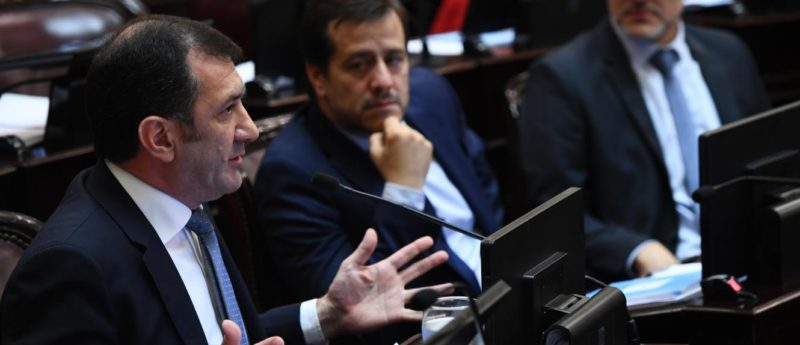 Kueider tiene una propuesta alternativa para la reforma judicial